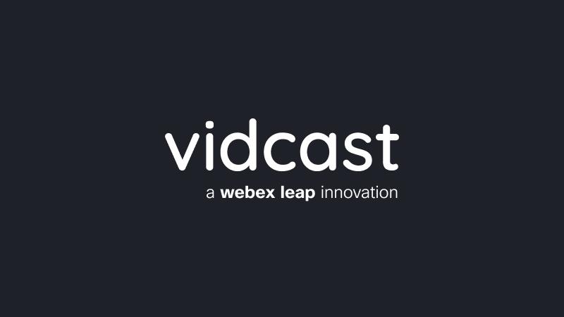 Cisco представляет Vidcast